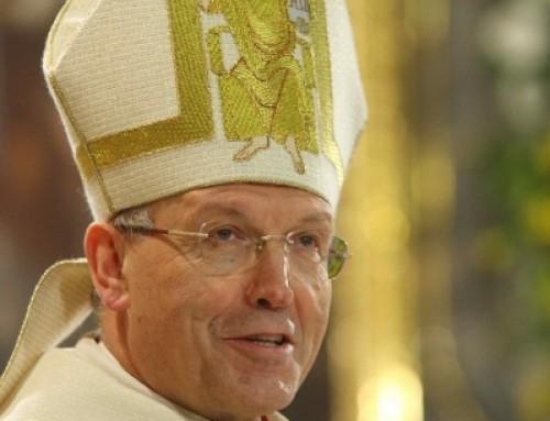 Nagovor nadškofa Antona Stresa pri velikonočnem bdenju