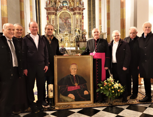 Spomin na 60. obletnico smrti škofa Rožmana v Šmihelu pri Pilberku