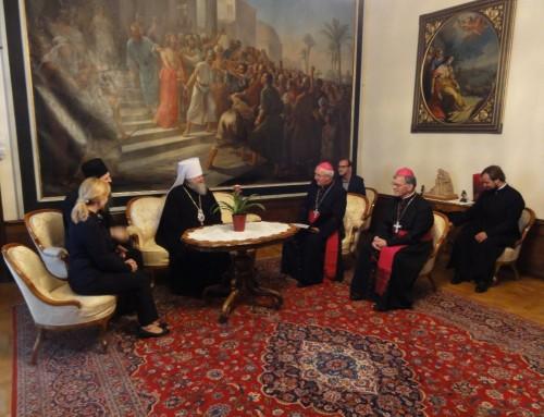 Ekumensko srečanje nadškofa msgr. Stanislava Zoreta OFM s predstavniki Ruske pravoslavne Cerkve