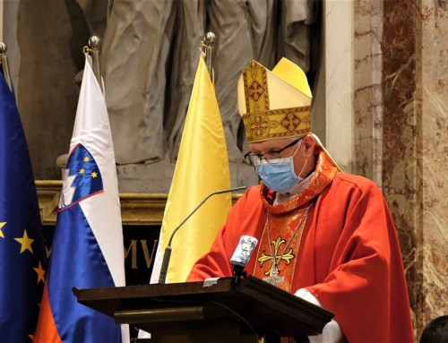 Nagovor nadškofa msgr. Stanislava Zoreta pri maši ob začetku akademskega leta