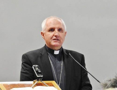 Nadškof msgr. Stanislav Zore OFM gost v oddajah Sveto in svet ter Sledi večnosti