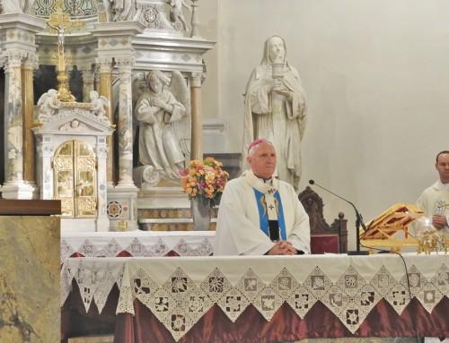 30. obletnica razglasitve cerkve Marije Pomagaj na Brezjah za baziliko