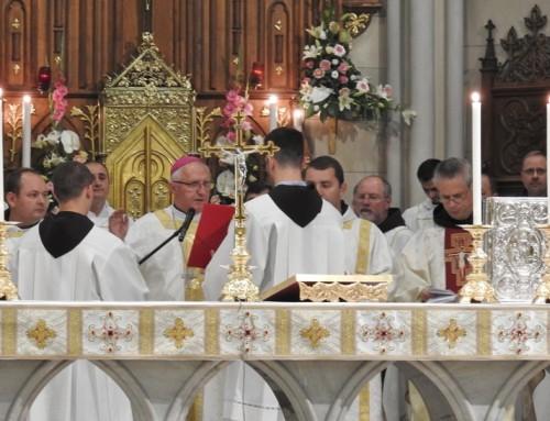 Nagovor nadškofa msgr. Stanislava Zoreta OFM med srečanjem generalnega definitorija manjših bratov v Zagrebu