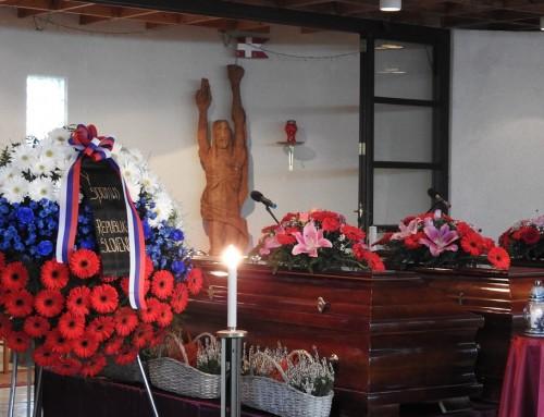 Pokop žrtev iz brezen pri Konfinu I in II