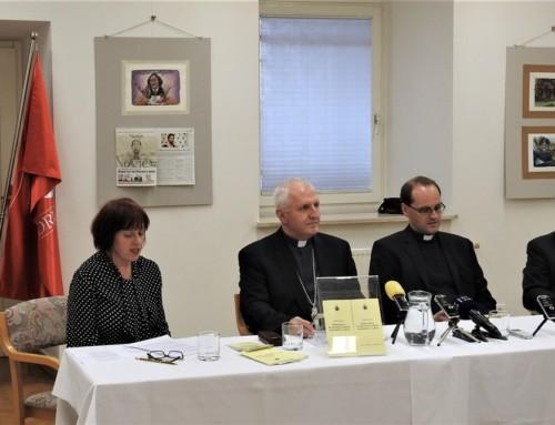 Predstavitev dokumenta Sklepni govor papeža Frančiška na srečanju za zaščito mladoletnih