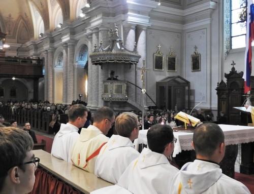 Praznovanje ob godovnem zavetniku Zavoda sv. Stanislava