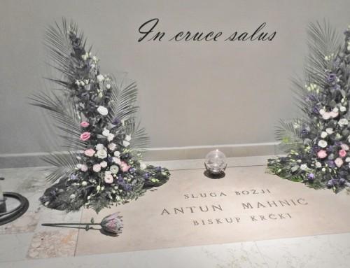 98. obletnica smrti Božjega služabnika škofa Antona Mahniča