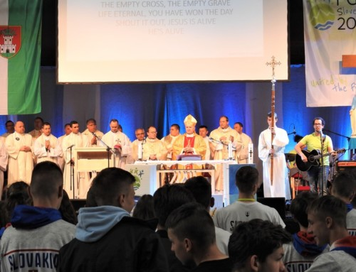 Nagovor nadškofa Zoreta ob sklepu mednarodnih salezijanskih iger