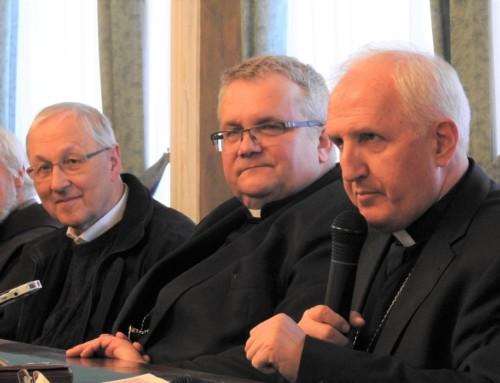 Sprejem katoliških novinarjev na nadškofiji