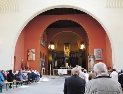 """""""Protipotresna pobožnost"""" ljubljanskih župnij"""