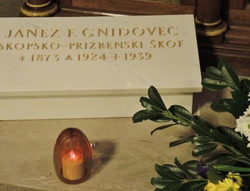 Nagovor nadškofa msgr. Stanislava Zoreta OFM ob obletnici smrti Božjega služabnika Janeza Frančiška Gnidovca