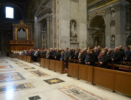 Šesti dan obiska Ad limina – Za slovo slovesna sveta maša v baziliki sv. Petra