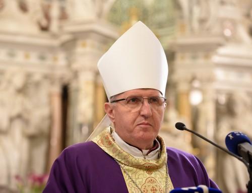 Nagovor nadškofa msgr. Stanislava Zoreta OFM ob občnem zboru Karitas