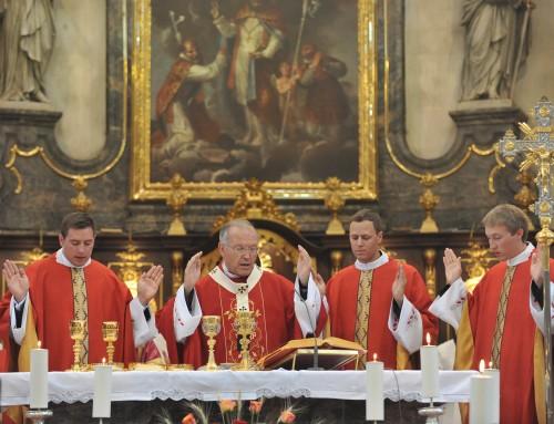 Nagovor nadškofa Antona Stresa pri mašniškem posvečenju
