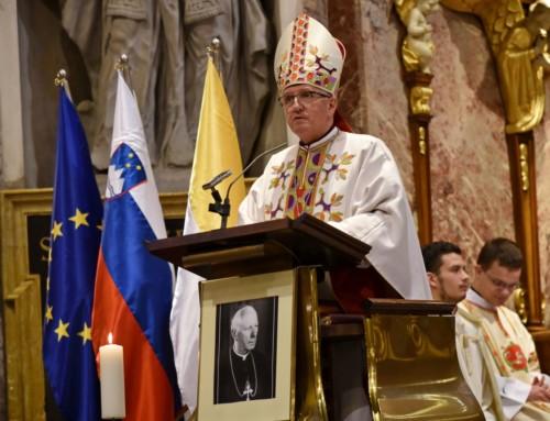 Nagovor nadškofa Zoreta ob 60 letnici smrti škofa Rožmana