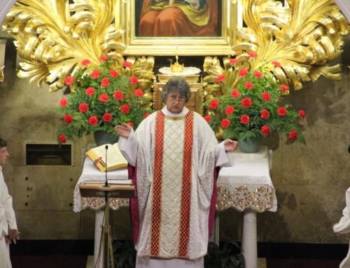 Nagovor nadškofa Zoreta ob slovesu duhovnika Franca Godca