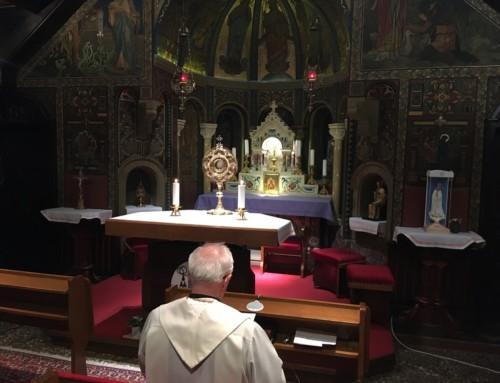 Ponedeljkova molitev slovenskih škofov