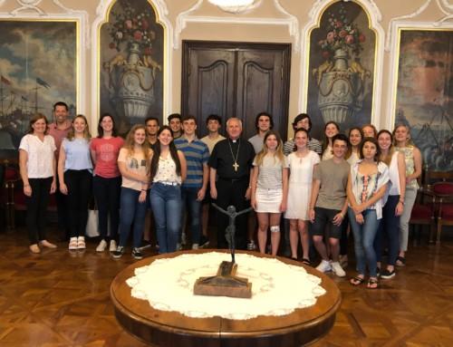 Obisk dijakov iz Argentine