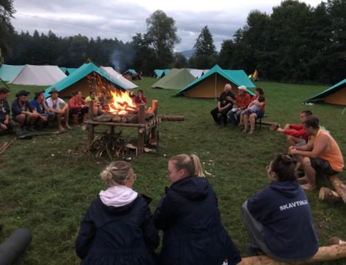 Obisk tabora skavtskih voditeljev