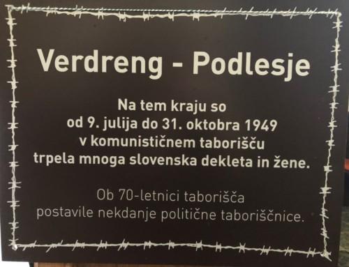 Nagovor nadškofa Zoreta ob spominu na žensko taborišče Vedreng