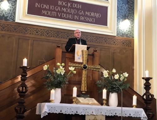 Ekumensko bogoslužje v evangeličanski cerkvi