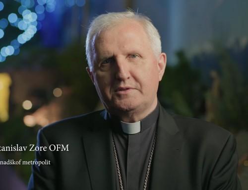 Nagovor nadškofa msgr. Stanislava Zoreta OFM ob nedelji Jezusovega krsta