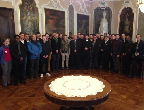 Obisk bogoslovcev iz Avstrije