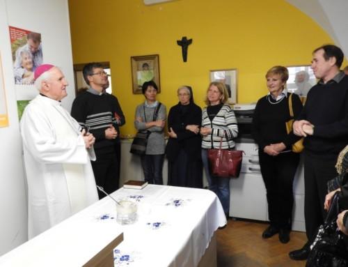 Blagoslov prenovljenih prostorov Škofijske karitas Ljubljana