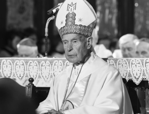 Besede nadškofa Zoreta ob smrti škofa Smeja