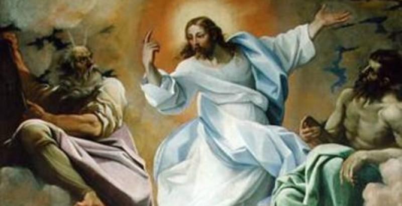 Jezusova spremenitev na gori - Lodovico Carracci - Vir splet